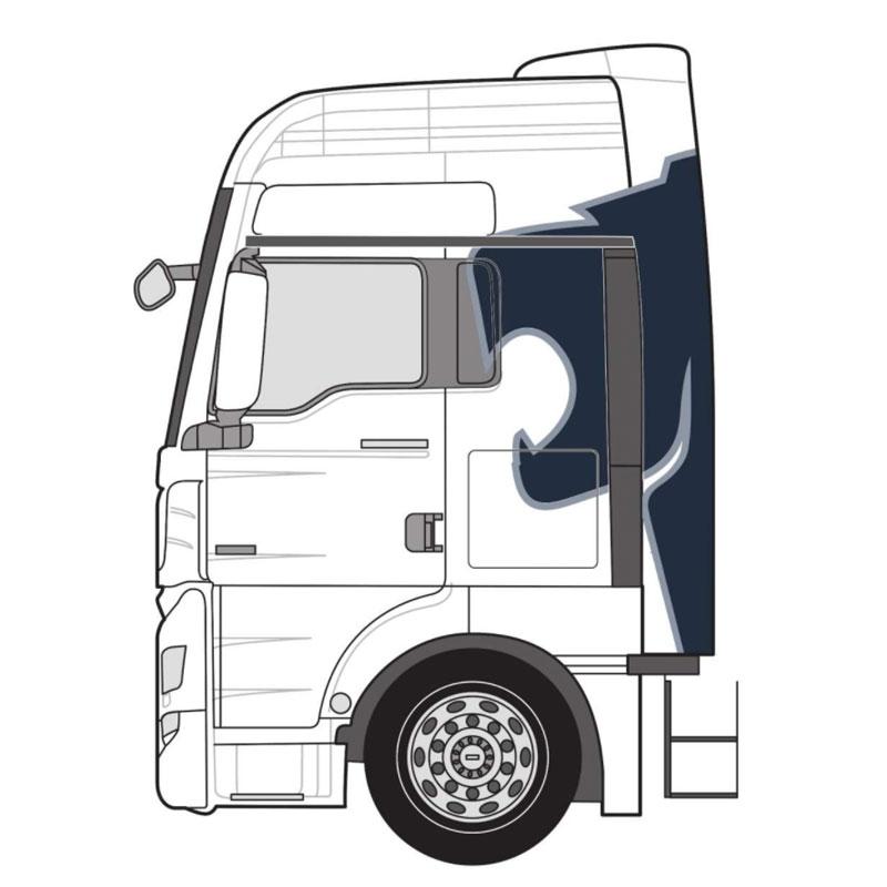 Fahrzeugdekor TGX XXL