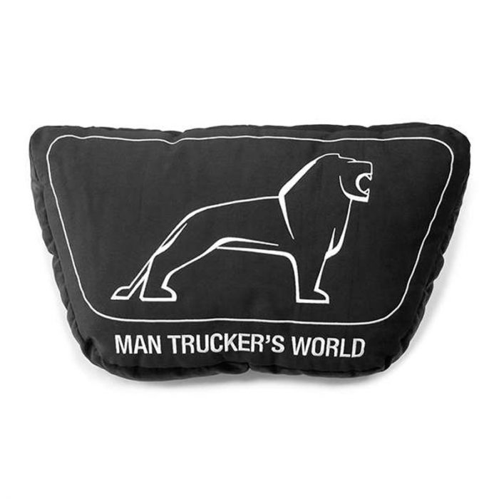 MAN Trucker's World Kissen, schwarz