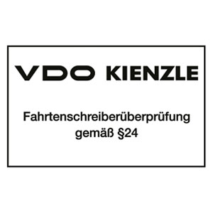 VDO Fahrtenschreiber Überprüfung bei Laimerkraftfahrzeugtechnik